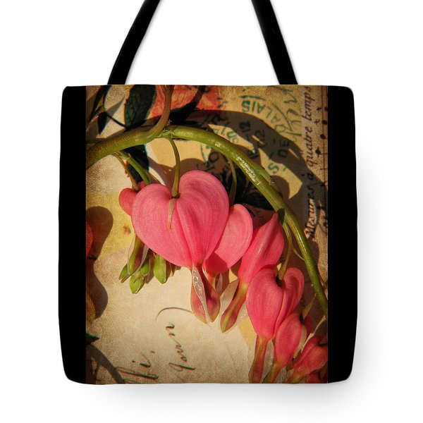 Spring Love Tote Bag by Chris Berry