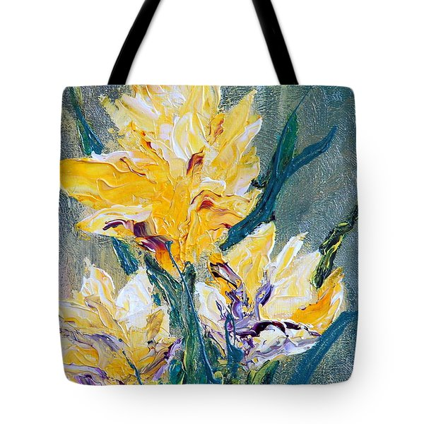 Spring Love Tote Bag by Teresa Wegrzyn