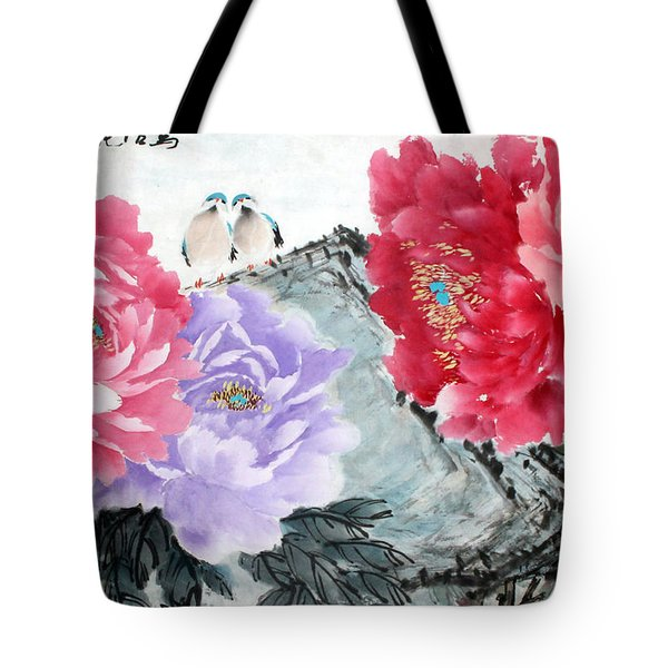 Spring Melody Tote Bag by Yufeng Wang