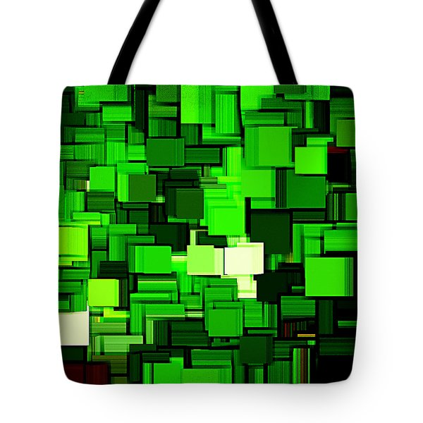 Spring Modern Abstract Xiv Tote Bag by Lourry Legarde