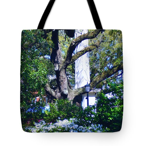 Spring Monolith Tote Bag