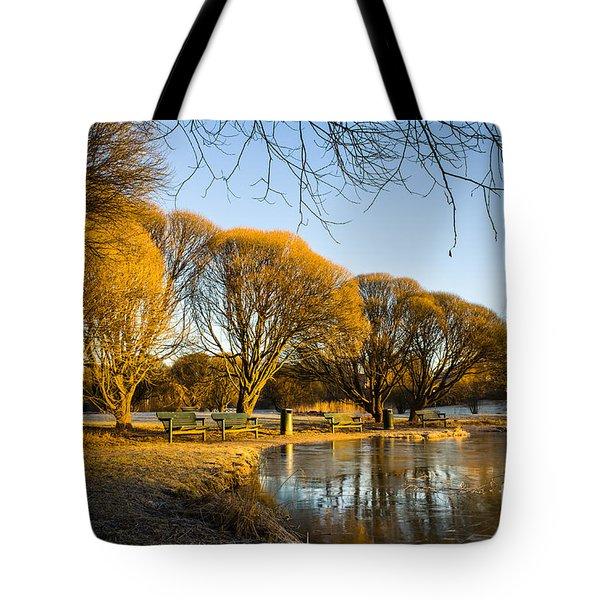 Spring Morning In The Park Tote Bag