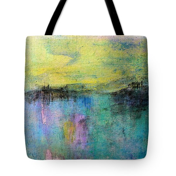 Tote Bag featuring the painting Spring Morning by Jim Whalen