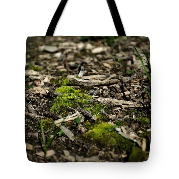 Spring Moss Tote Bag