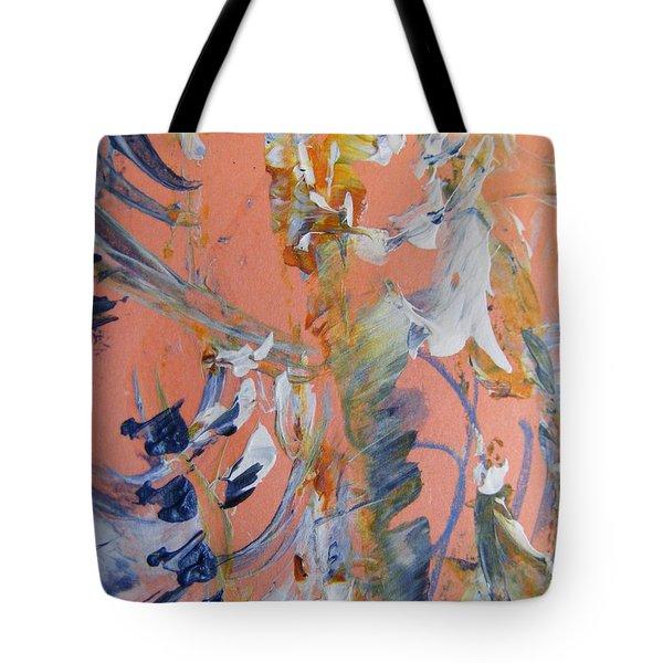 Spring Tote Bag by Nancy Kane Chapman