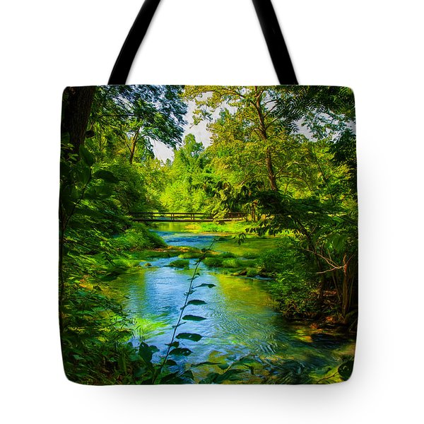 Spring Of Wonderment Tote Bag by John M Bailey