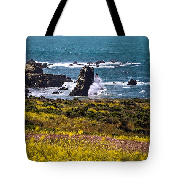 Spring On The California Coast By Denise Dube Tote Bag