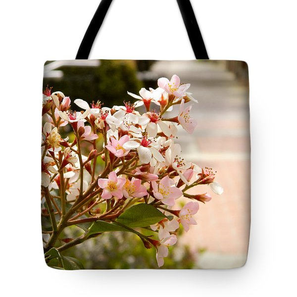 Spring On The Street Tote Bag