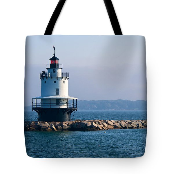Spring Point Lighthouse Tote Bag