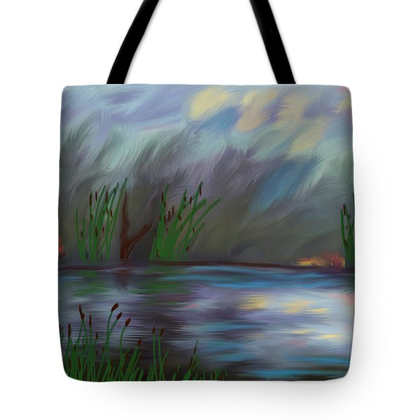Spring Reed In The Canyon Tote Bag by Angela A Stanton