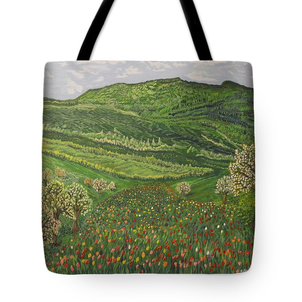 Spring Remembrances Tote Bag by Felicia Tica