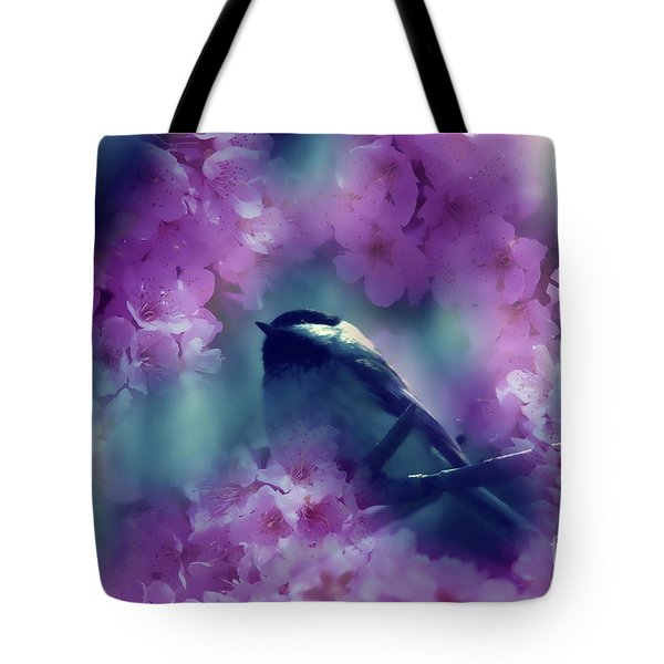 Spring Rhapsody Blossoms Tote Bag by Cathy  Beharriell