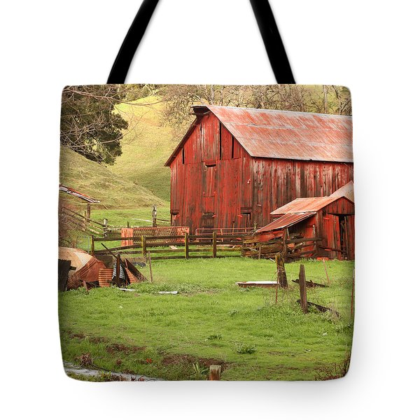 Spring Run-off Tote Bag by Art Block Collections