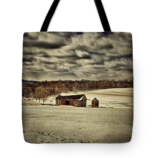 Spring Snows Tote Bag by Lois Bryan