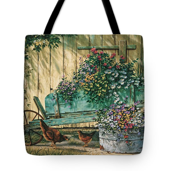 Spring Social Tote Bag by Michael Humphries