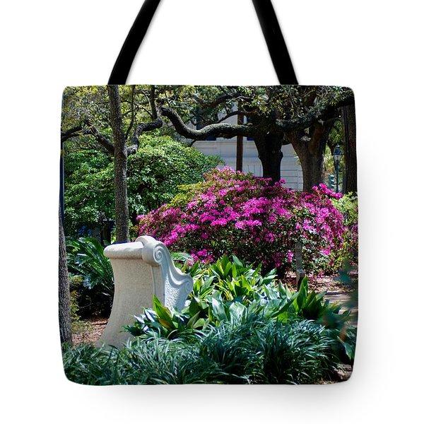 Spring Solitude Tote Bag