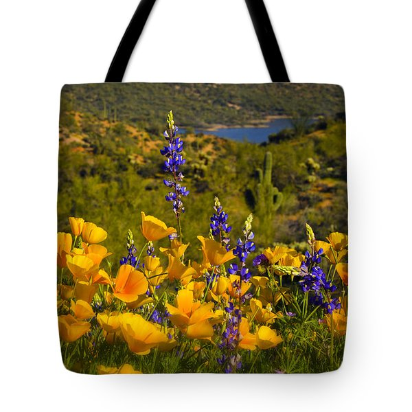 Spring Southwest Style  Tote Bag