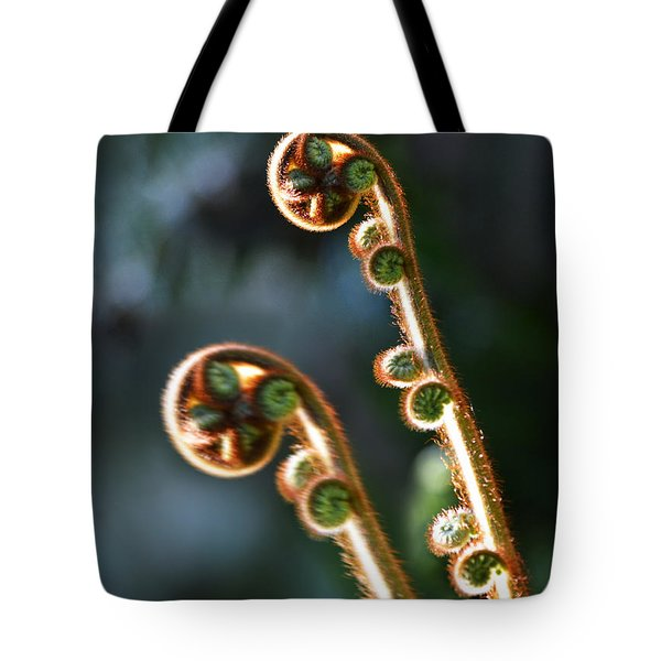 Spring Stanza Tote Bag by Xueling Zou