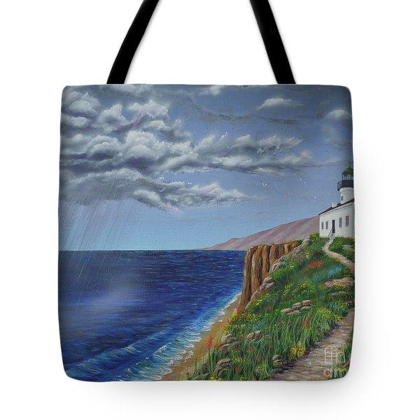 Spring Storm Tote Bag