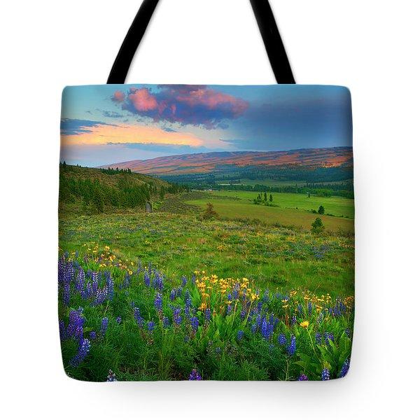 Spring Storm Passing Tote Bag