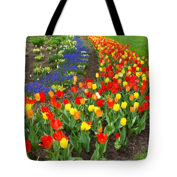 Spring Streaming By Tote Bag