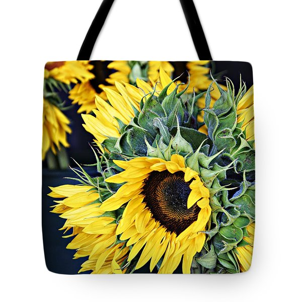 Spring Sunflowers Tote Bag