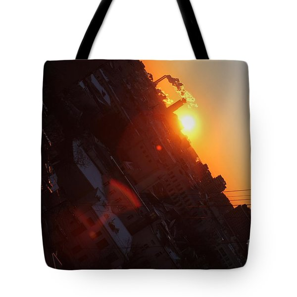 Spring Sunrise Tote Bag by Anna Yurasovsky