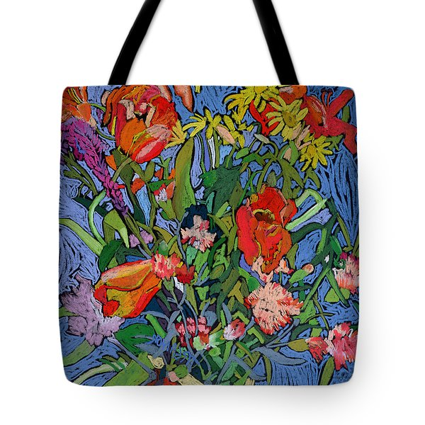 Spring Symphony Tote Bag by Frances Treanor