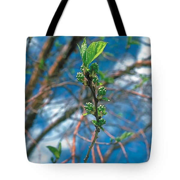 Spring Tote Bag by Terry Reynoldson