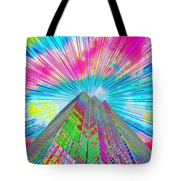 Spring Time In Denver Tote Bag by Bobbie Barth