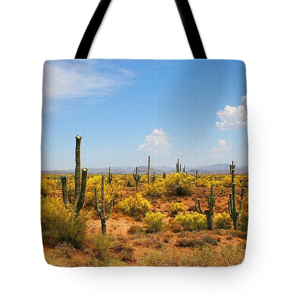 Spring Time On The Rolls - Arizona. Tote Bag