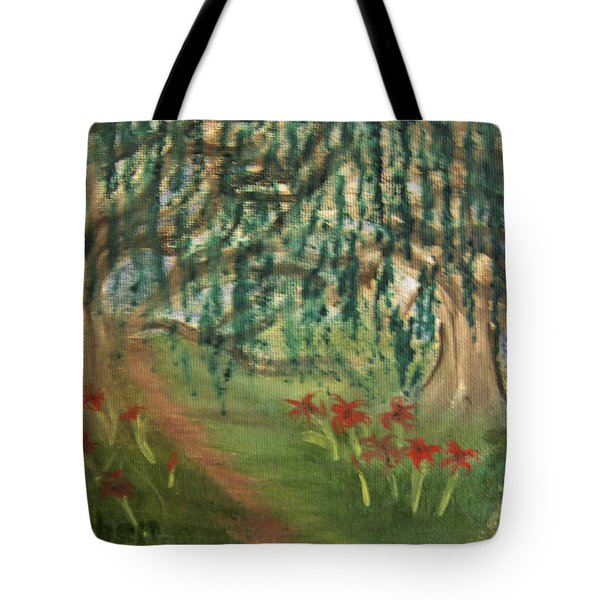 Spring Trail Tote Bag