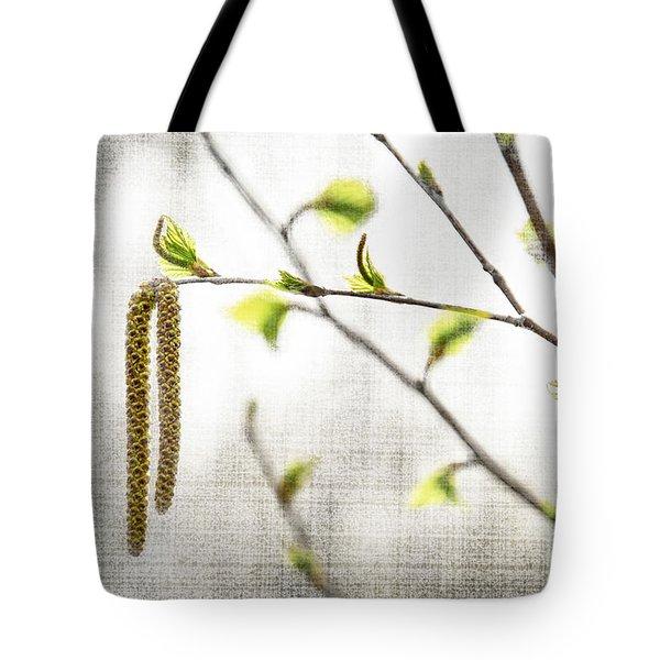 Spring Tree Branch Tote Bag