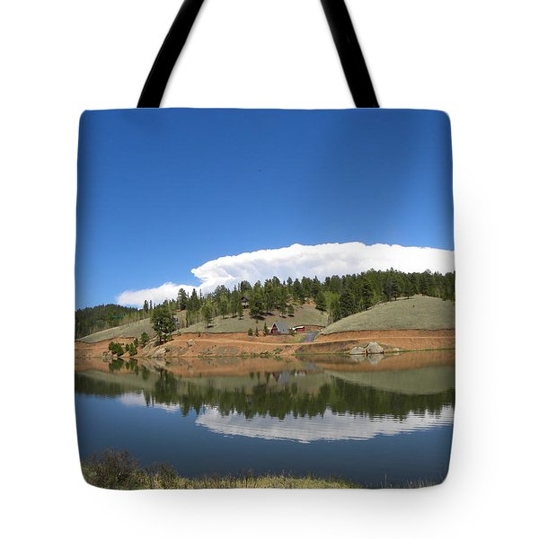 Tote Bag featuring the photograph Ridge Over Burgess Res Divide Co by Margarethe Binkley