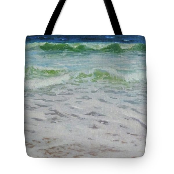 Spring Wave Tote Bag