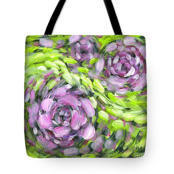 Spring Whirl Tote Bag