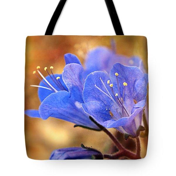 Spring Wildflowers - The Desert Bluebells Tote Bag