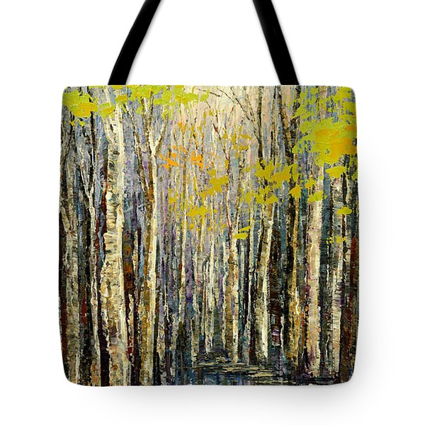Spring Wind Tote Bag