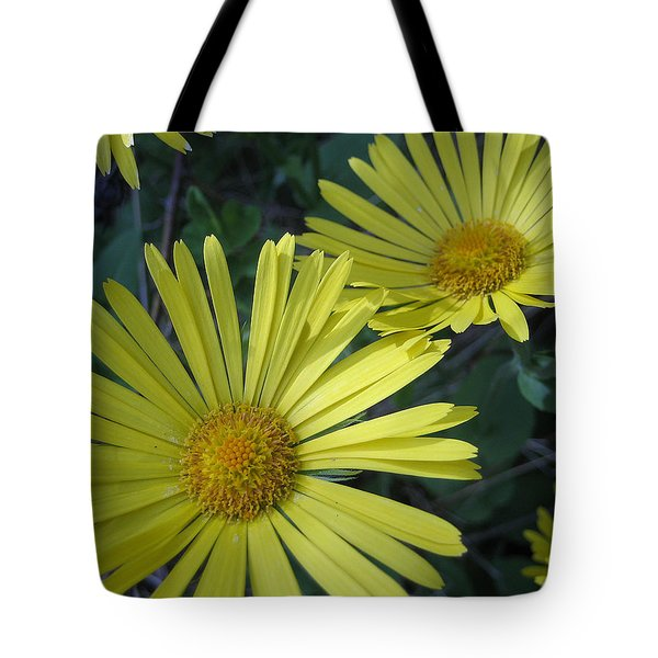 Tote Bag featuring the photograph Spring Yellow  by Cheryl Hoyle