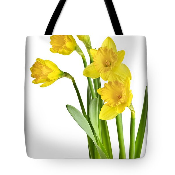 Spring Yellow Daffodils Tote Bag by Elena Elisseeva