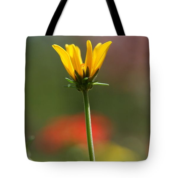 Spring Yellow  Tote Bag by Neal Eslinger