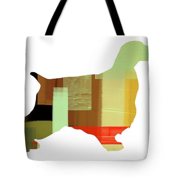 Springer Spaniel  Tote Bag by Naxart Studio