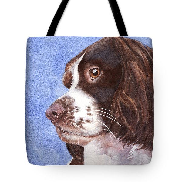 Springer Spaniel Puppy Tote Bag