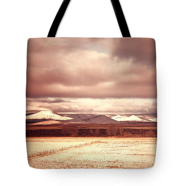 Springerville Arizona View Tote Bag by Donna Greene