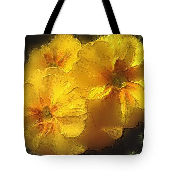 Tote Bag featuring the photograph Springflower 5 by Gabriella Weninger - David
