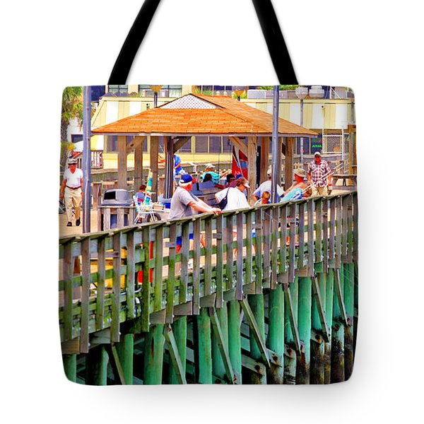 Springmaid Beach Pier 2006 Tote Bag