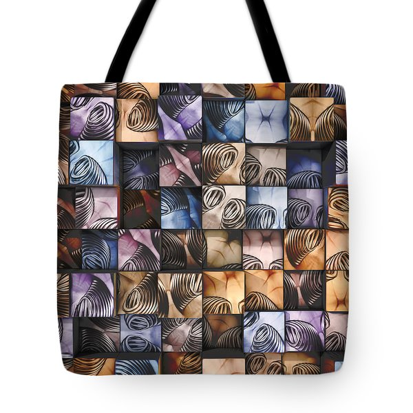 Springs And Squares Tote Bag