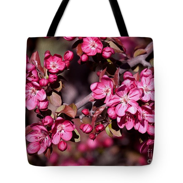 Tote Bag featuring the photograph Spring's Arrival by Roselynne Broussard