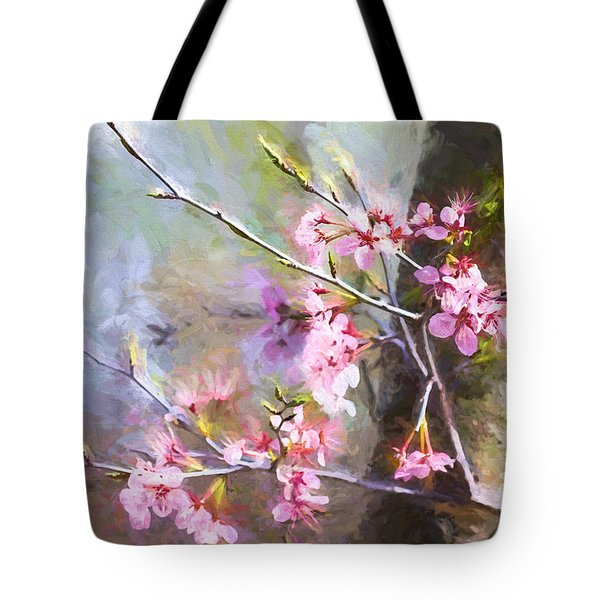 Spring's Awaited Color Tote Bag