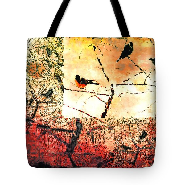 Spring's Coming Tote Bag